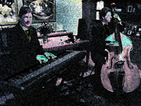 Piano and Bass Duo